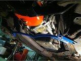 Onderste Chassis Steun Volvo 740 / 940_
