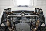 Porsche 997 (II) Center Muffler Bypass X-pipe 2009-11_