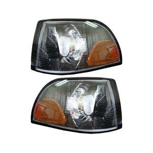 Knipperlichten USA Helder / Zwart - Volvo S/V/C70 Classic