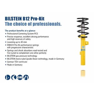 Bilstein B12 Pro Kit Volvo S60 (I)
