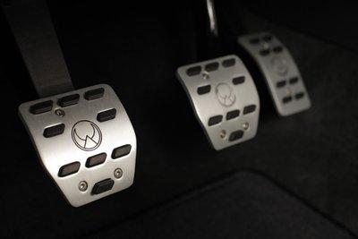 Heico Aluminium Pedalen Set - Volvo C30 / C70II / S40II / V50 / V40II / S60II / V60 Handbak