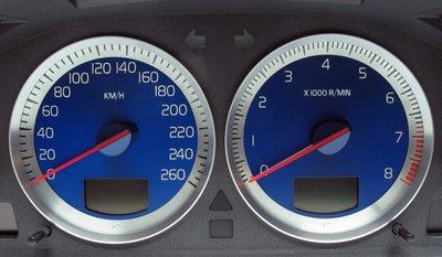 Aluminium Instrumenten Ringen  Volvo S60R / V70R