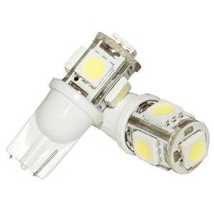 T10 LED 5-SMD 6500K 32Lm 12V