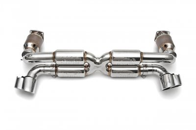 Porsche 996 Turbo Supercup Exhaust System